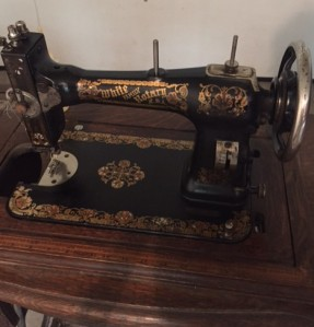 Old White Rotary treadle sewing machine, in the process of restoring.